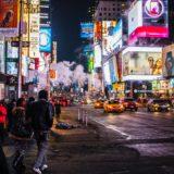 大都会ニューヨークの夜