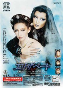 2005年月組公演のエリザベートのポスター